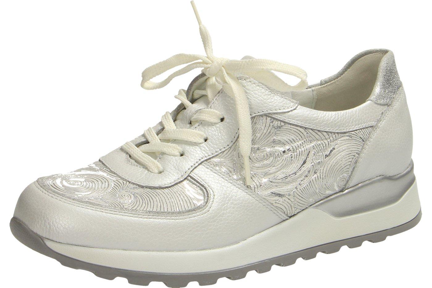 Waldläufer 364013 - Zapatos de cordones para mujer 38 EU|kombi