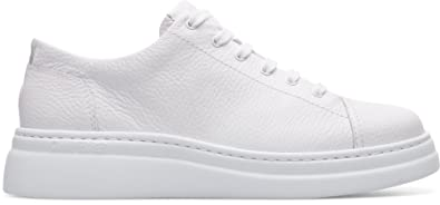 Camper Hoops, Baskets Femme, Blanc (White Natural 100), 38 EU