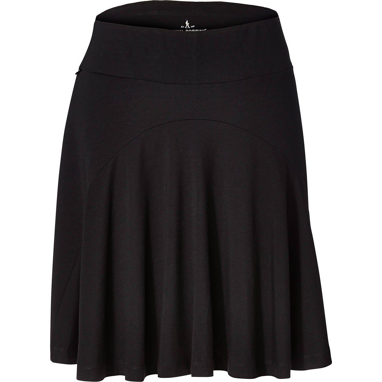 Royal Robbins Women's Essential Tencel Skirt, Jet Black, Small