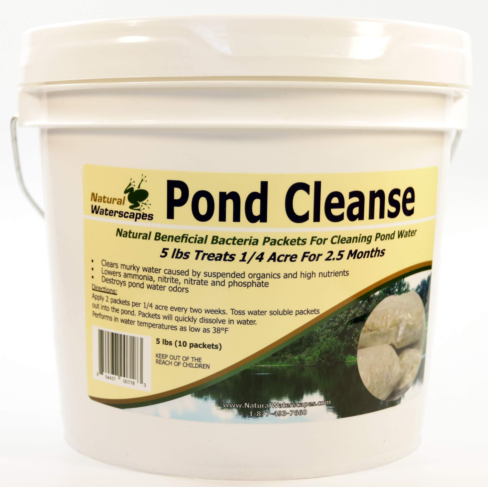 Pond Cleanse Bacteria Packets 5 lb by Natural Waterscapes