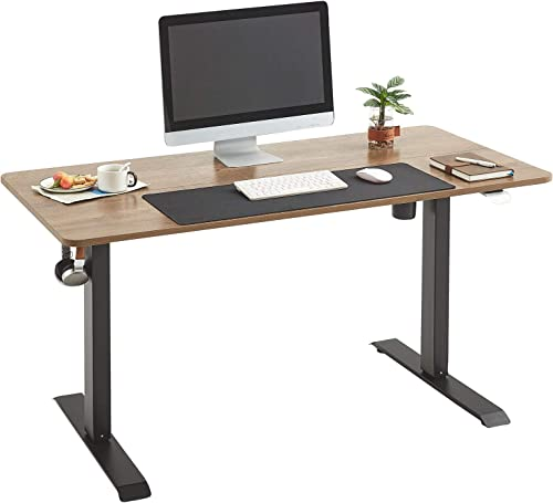 Linsy Home Electric Height Adjustable Office Desk