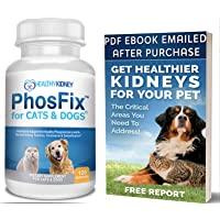 PhosFix for Cats & Dogs: Phosphorus Binder for Cats & Dogs to Support Normal Phosphorus Levels and Kidney Function…