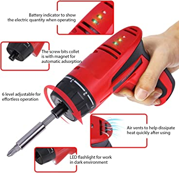 Meterk Cordless Electric Screwdriver 1500mAh featured image 4