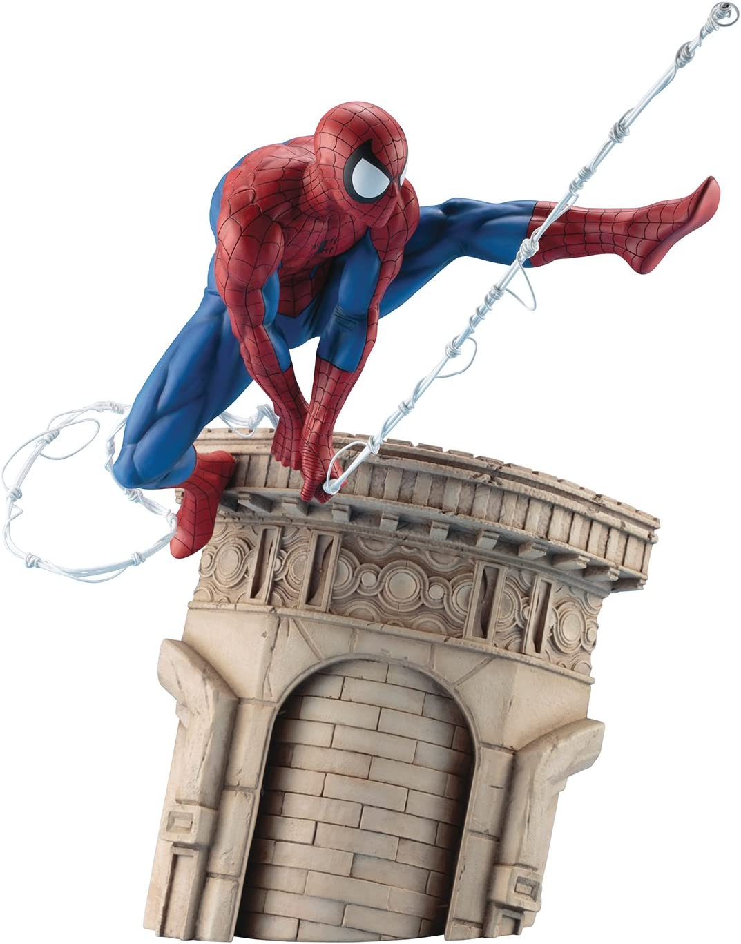 Kotobukiya Marvel Universe Spider-Man Webslinger Artfx Statue Collectible Figure