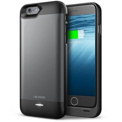 Amazon.com: iPhone 6S caso, de batería (MFI) i-Blason Apple ...