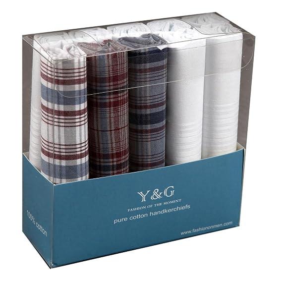 joli design à bas prix profiter du meilleur prix YED 02 10 Pack Mouchoirs Set Homme par Y&G