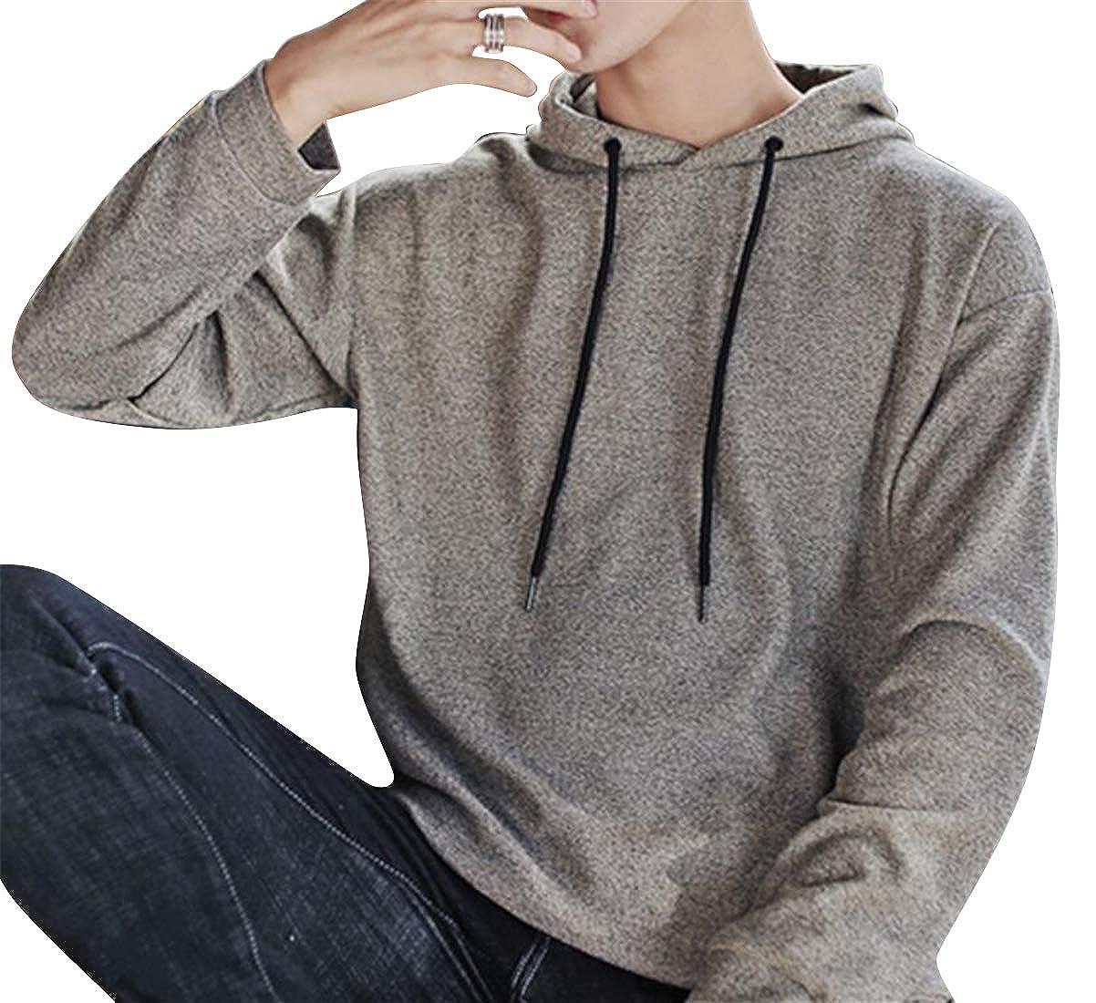 Jotebriyo Womens Fashion Print Pockets Graffiti Drawstring Loose Fit Pullover Hoodie Sweatshirt