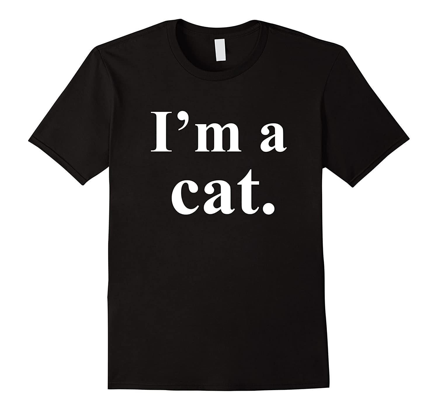 I'm a Black Cat Halloween Costume T-shirt-FL