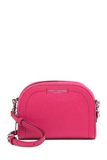 3296f9944e Amazon.com  Marc Jacobs Playback Leather Crossbody Bag Carnation  Shoes