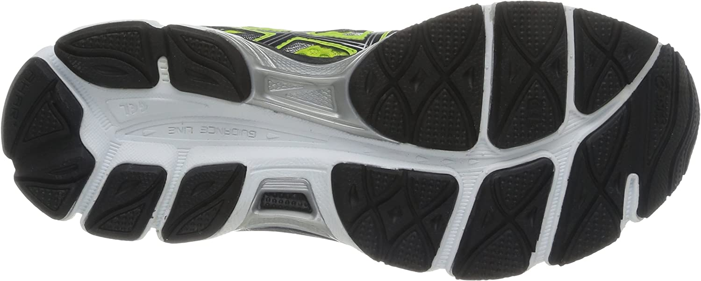 Asics Gel Cumulus 16, Zapatillas de Running para Hombre, Amarillo/Negro/Plata/Blanco, 44.5 EU: Amazon.es: Zapatos y complementos