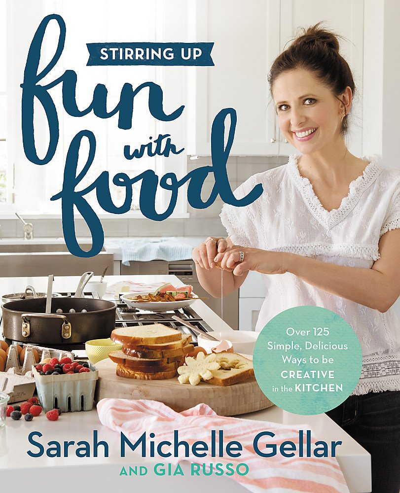 Stirring Up Fun with Food: Over 115 Simple, Delicious Ways to Be Creative in the Kitchen Hardcover – April 4, 2017 Sarah Michelle Gellar Gia Russo 1455538744 Cooking with Kids