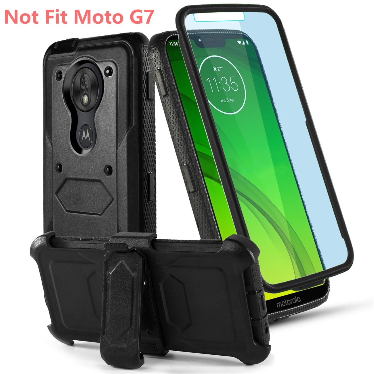 Funda Para Moto G7 Power Con Pie Toyouu (7pz691ls)