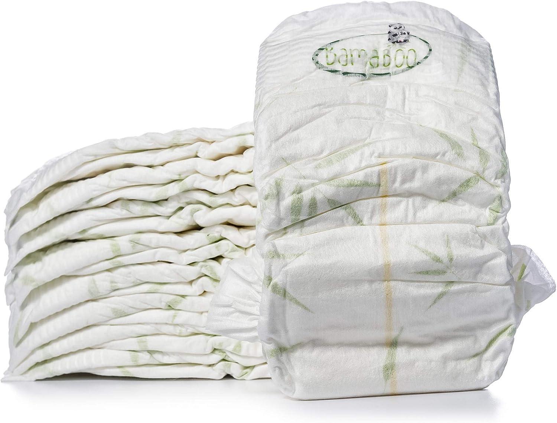 Bamaboo Essential Lot de 4 paquets de 20 couches Taille 5