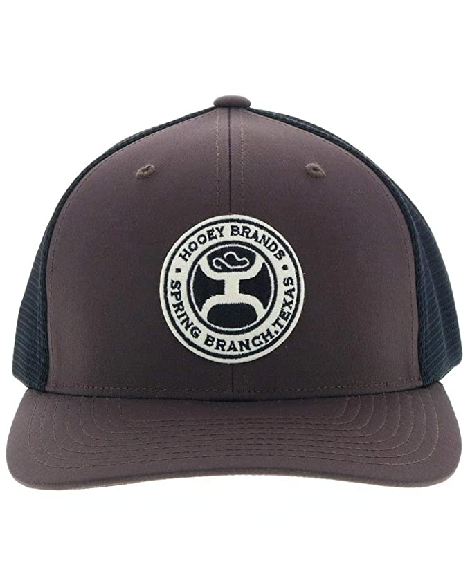 finest selection d54ad dd809 Hooey Men s Hooey Guadalupe Trucker Cap Brown One Size at Amazon Men s  Clothing store
