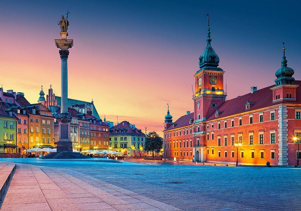 Castorland B060306 Puzzle Krakow Main Square At Night 600 Pieces