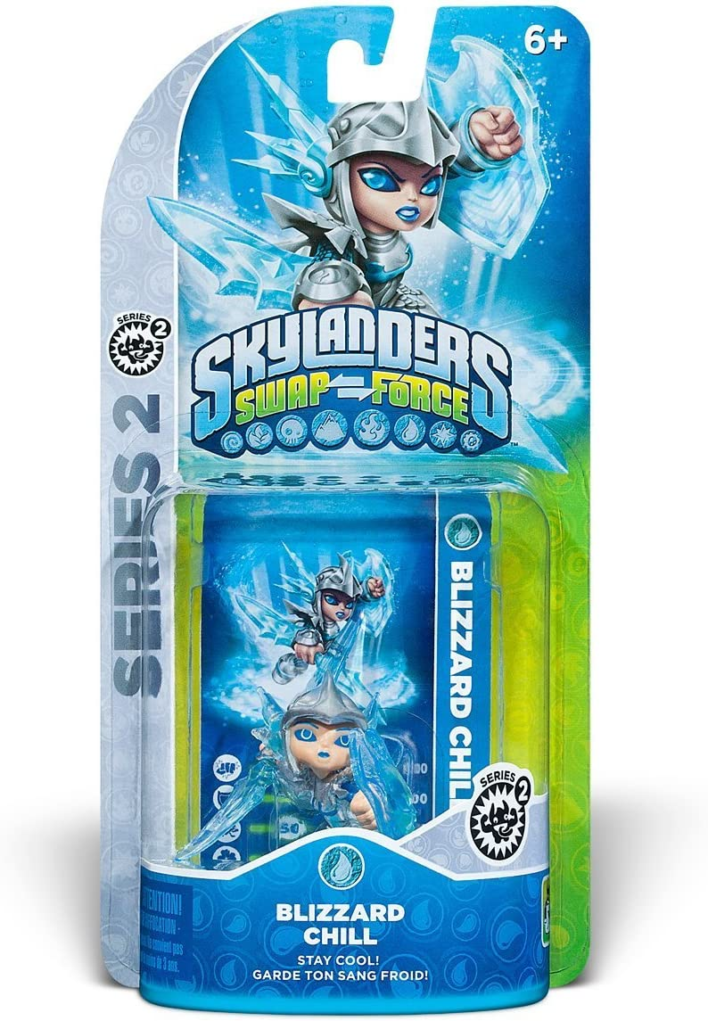 Amazon Skylanders SWAP Force Blizzard Chill Series 2 Character Video Games