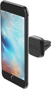 iOttie iTap Mini Magnetic Premium Air Vent Mount Holder || iPhone XS Max R 8/8s 7 7 Plus 6s Plus 6s 6 SE Samsung Galaxy S8 Plus S8 Edge S7 S6 Note 8 5