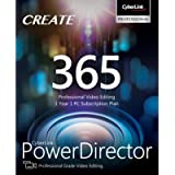 CyberLink PowerDirector 365 - 1 year subscription [PC Download]