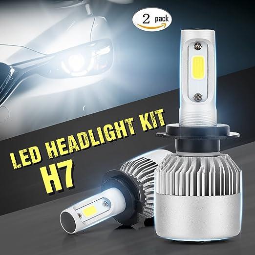 3 opinioni per Kit di conversione lampade LED H7,InteTech,LED COB Faro dell'automobile Kit