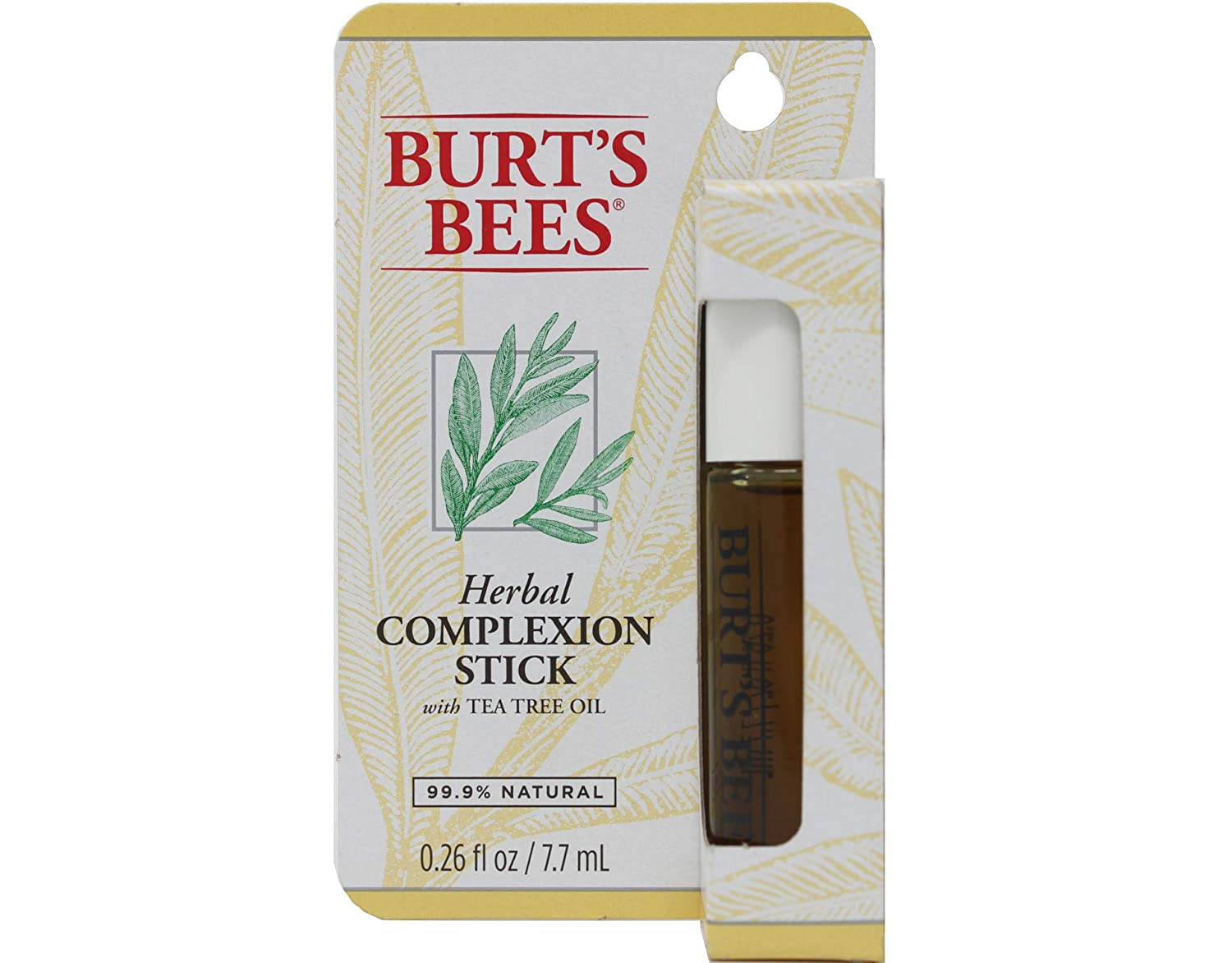 Burt s Bees Herbal Complexion Stick 0.26 Ounces, Pack of 1