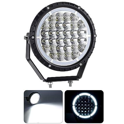 KAWELL® 96W Faro LED Luz de Trabajo Haz Combinado Focos LED Luz de Inundación Luces