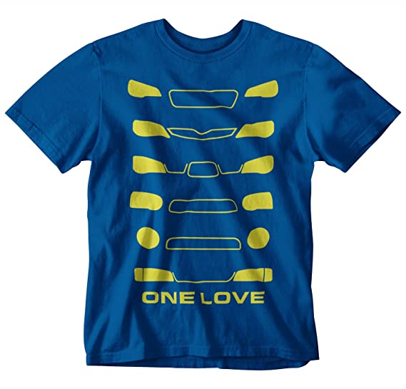 Amazon Com Styln Subaru Headlight Generation T Shirt Clothing