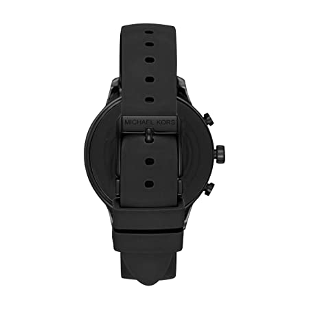1bc0cc76dcb503 Michael Kors Access Runway Stainless Steel Smartwatch, Color: Black (Model:  MKT5049): Amazon.in: Computers & Accessories