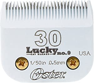 Oster Lucky No.9 Cat Blades, Size 30