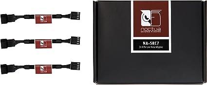 Noctua NA-SRC7, Cables Adaptadores para Disminución de Ruido con 4 ...