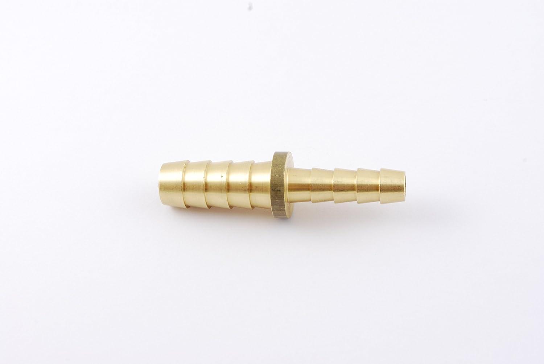 Brass Barb Splicer 3//16 Hose ID to 1//8 Hose ID Reducer