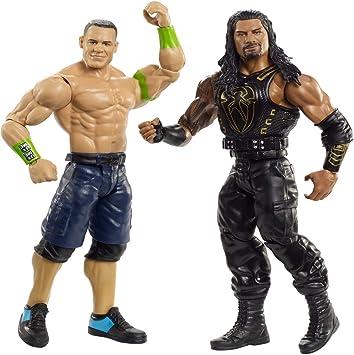 WWE- Pack de 2 Figuras de acción, John Cena y Roman Reigns (Mattel GBN51), Multicolor: Amazon.es: Juguetes y juegos