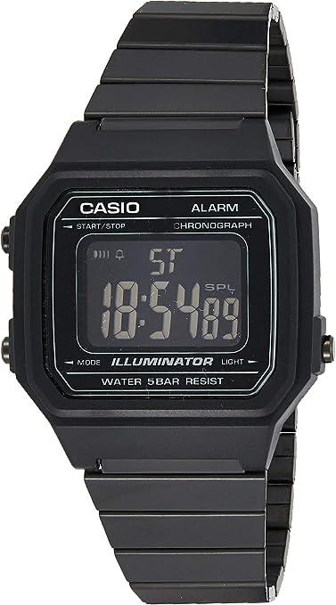 Casio Reloj Digital para Hombre de Cuarzo con Correa en Acero Inoxidable B650WB-1BEF