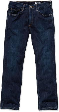 4baa262d28681 Carhartt 100067 Pantalon de travail Coupe droite Jambe droite  Amazon.fr   Vêtements et accessoires