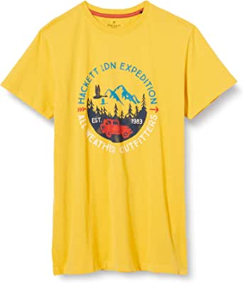 Hackett London LDN Expdn tee Y Camiseta para Niños
