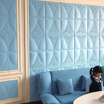 Details about  /5M Embossed Wall Sticker Baseboard Self-Adhesive wall Corner Line Waterproof