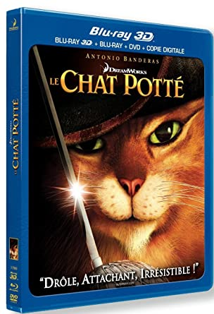 Le Chat Potté [Combo Blu-ray 3D + Blu-ray + DVD +