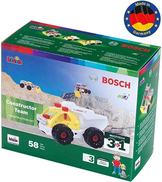 Theo Klein- 8792 Bosch 3 In 1 Set De Construcción, Constructor Team, Juguete, (8792) , color/modelo surtido: Amazon.es: Juguetes y juegos