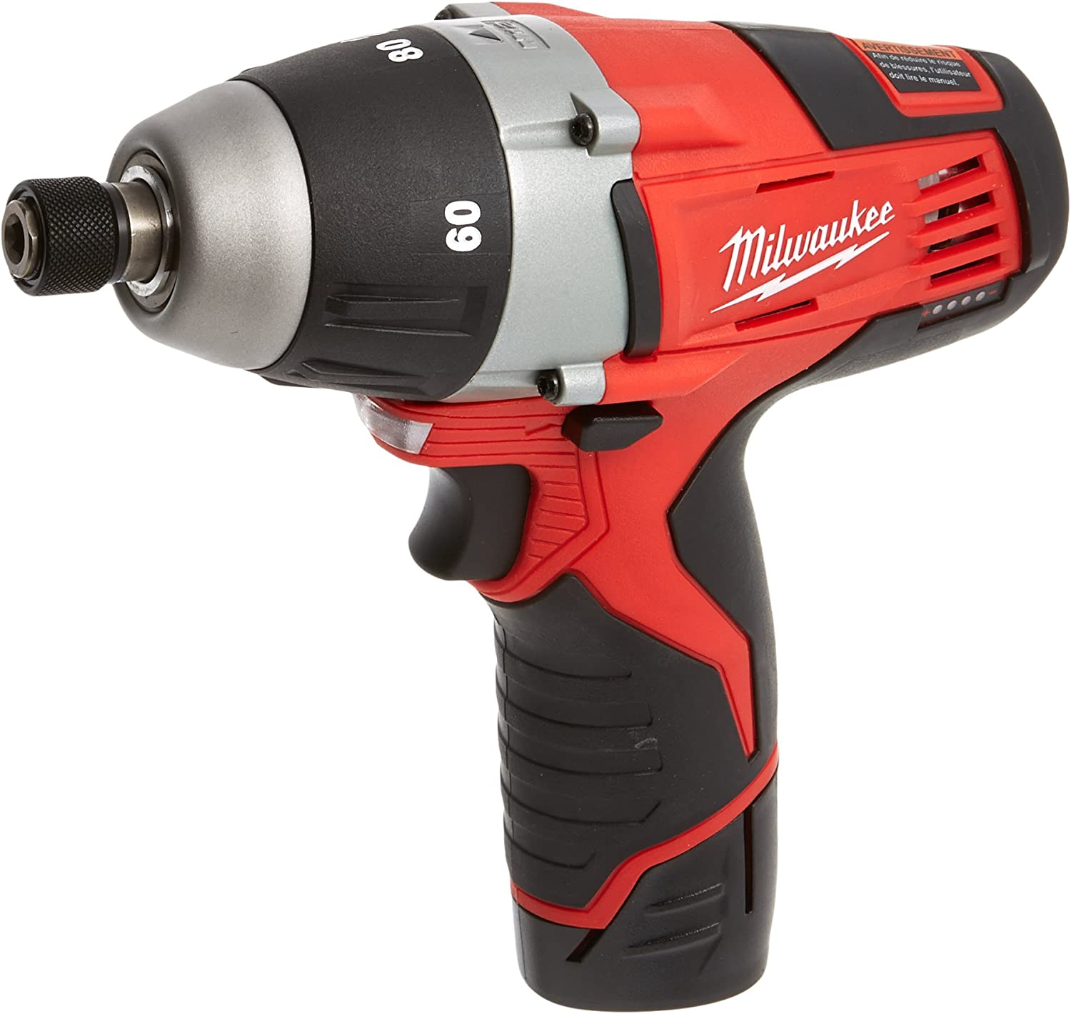 Tool Only Milwaukee 2455-20 M12 Cordless Lithium-Ion No-Hub Driver