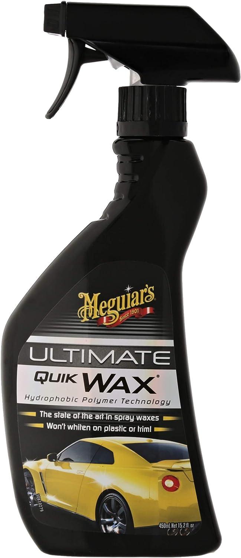 Meguiar`s G17516EU Ultimate Quik Wax Cera Líquida para Coche 450 ml