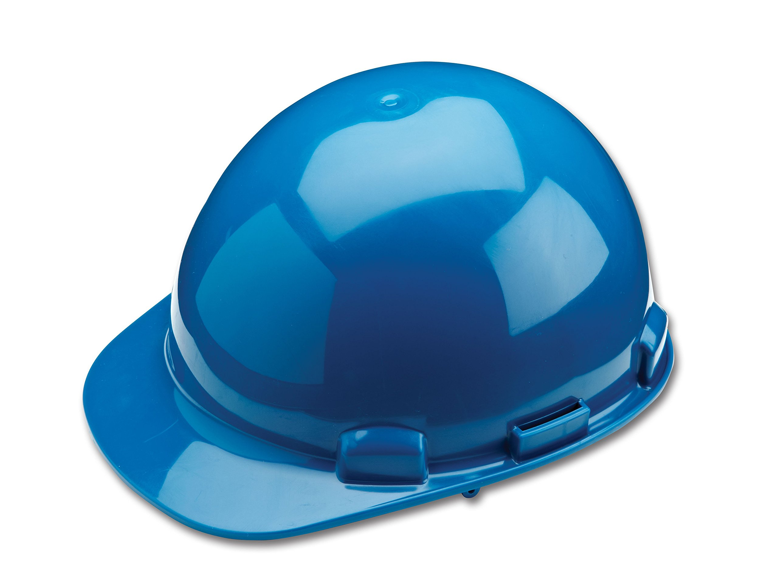 Dynamic Safety HP341/71 Dom Hard Hat with 4-Point Nylon Suspension and Pin Lock Adjustment, ANSI Type I, One Size, Steel Blue