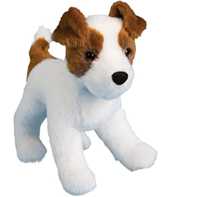 Douglas Feisty Jack Russell Terrier Plush Stuffed Animal: Toys & Games