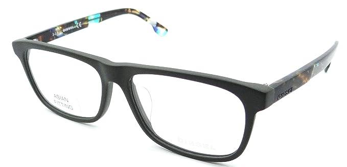 Amazon.com: Diesel Rx Eyeglasses Frames DL5212-F 097 57-15-145 Matte ...