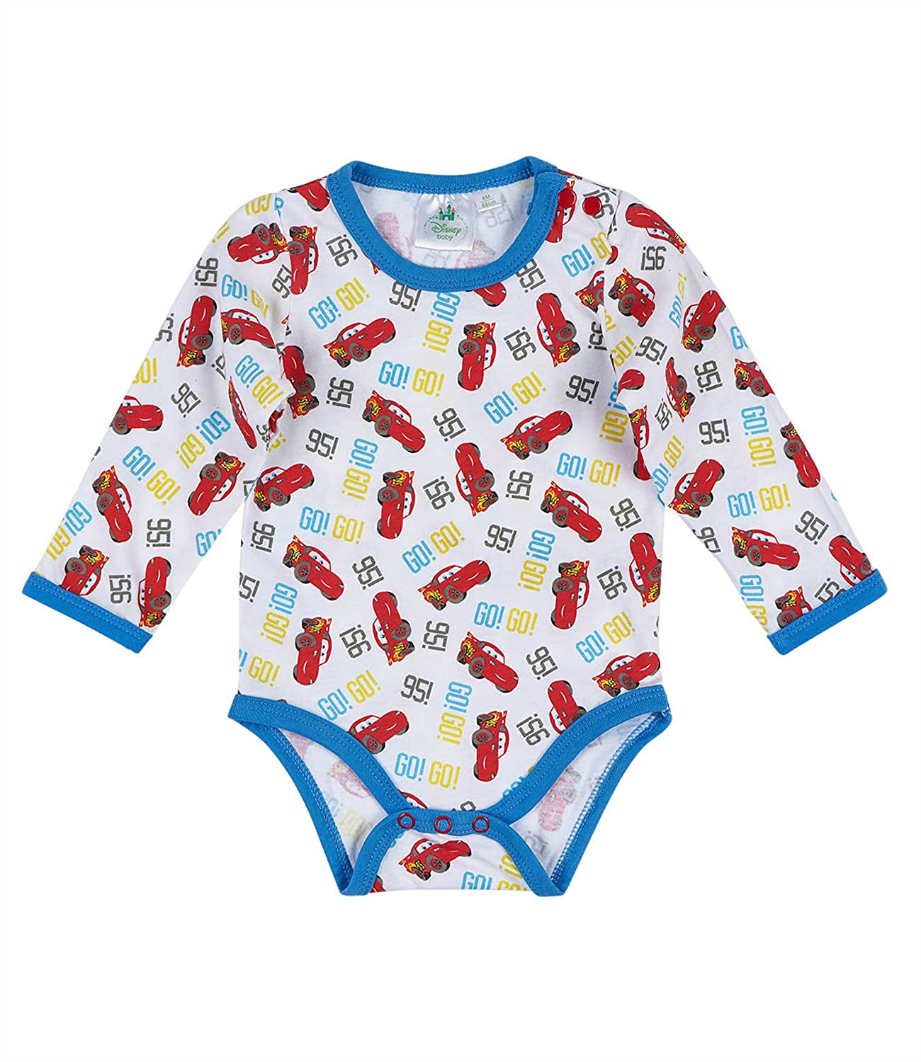 Disney Cars Babies Body bebé - Blanco