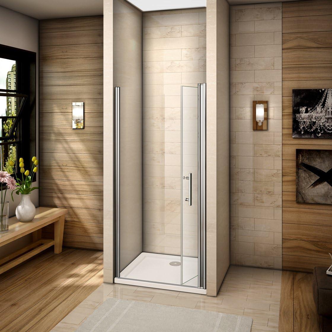 70x185cm Mamparas de ducha Pantalla baño plegable puerta de ducha ...