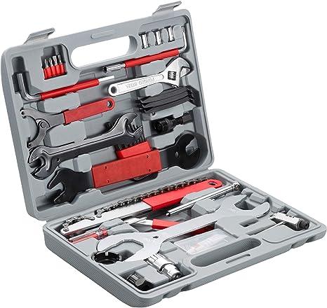 TecTake 403284 Kit de Herramientas de 50 Piezas para Reparación ...