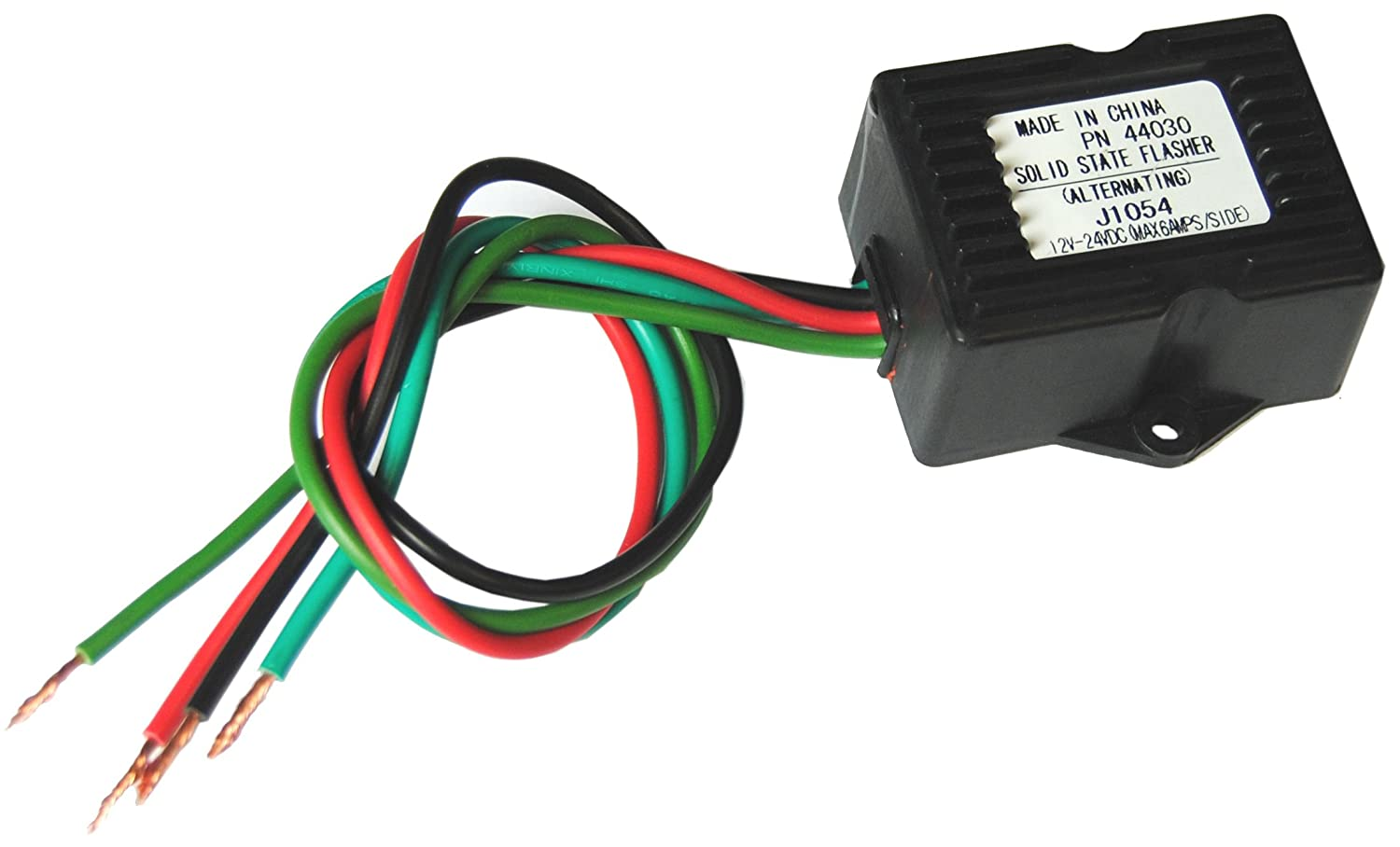 Wig Wag Wire Harness Wiring Library Amazoncom Solid State Led Flasher Relay Alternating Pattern 12