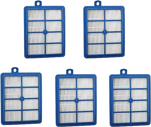 5 filtros de repuesto para aspirador Philips FC9084, FC9085, FC9086, FC9087, FC9088, Electrolux ZUA3840P, ZE346B, Z3347, ZU3375, US3940P, ZE360WP: Amazon.es: Hogar