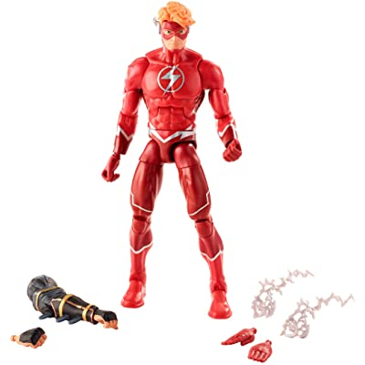 Mattel DC Comics Multiverse Wally West Action Figure: Toys & Games