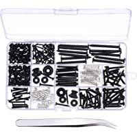 Canomo 254 Pieces Electric Guitar Screw Kit (9 Types) with Springs for Electric Guitar Bridge, Pickup, Pickguard, Tuner…
