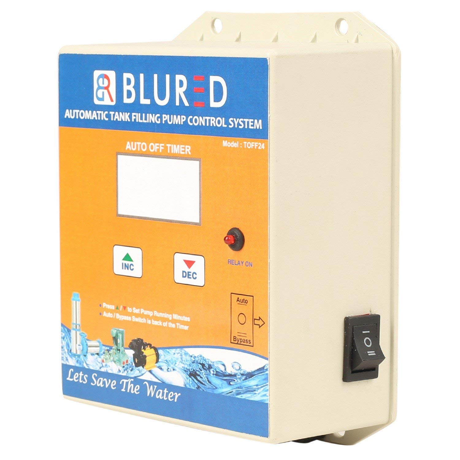BLURED TOFF24 Automatic Tank Filling Pump Controlling System